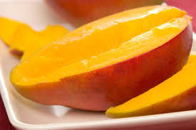 mango sliced